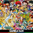 GAMELX 5x32 - Off Topic: Las series de animación de nuestra infancia | Final Temporada 5