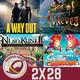 GR (2X28) A Way Out, Sea of Thieves, Ni No Kuni II, Scribblenauts Showdown, PUBG Mobile, Robo Cuentas Fortnite y Nindies