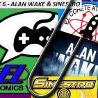 El Cohete Atómico y El Clip : Alan Wake y Sinestro