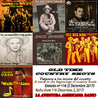 116- Old Time Country Shots (2 Diciembre 2017)