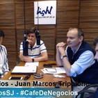 #CafeDeNegocios 197 Presidentes: Cámara de Supermercados,CASEMI,Joven UISJ #CaféEconómico Jorge Compagnucci,Gustavo Ruiz