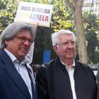 Embajador Gerbasi en la Toma de Venezuela en Madrid