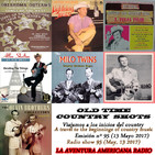 95- Old Time Country Shots (13 Mayo 2017)
