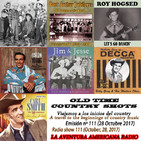 111- Old Time Country Shots (28 Octubre 2017)