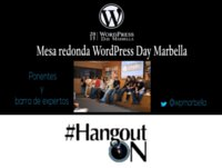 Mesa redonda WordPress Day Marbella 2015