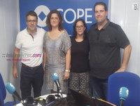Entrevista en Cope Alicante sobre el Congreso Ecommaster a María Alfaro y Marga Martínez dos de las organizadoras del
