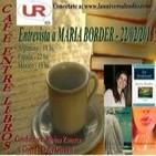 Entrevista a MARÍA BORDER en el programa Café entre libros por Universal Radio