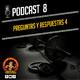 Podcast 8 | MEJORAR LA SENSIBILIDAD A LA INSULINA, SUPLEMENTARSE CON BCAAS, COMO MEJORAR LA VELOCIDAD, DÁTILES