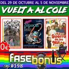 Fase Bonus #198: La Guerra de los Niños, Retro Zaragoza y Back to School