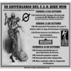 Cuña III Aniversario CSO Kike Mur