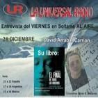 DAVID ARRABAL CARRION Entrevistas en el saloncito coord: Miren E. Palacios 28-12-12
