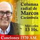 Marcos Carámbula, la columna | Radio Canelones | 29.03.2017