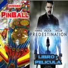 LODE 5x20 –Archivo Ligero– dossier PINBALL, PREDESTINATION (libro + film), Metapodcasting