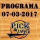 Pick&Pop 07/03/2017