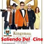 Kingsman Circulo Dorado Saliendo del Cine