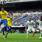 GOL HERNAN REAL MADRID vs LAS PALMAS