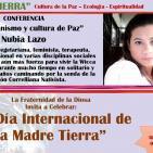 """""""Vegetarianismo y cultura de Paz"""" Nubia Lazo (MADRE TIERRA - EVENTO GLOBAL)"""