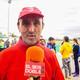 Declaraciones de Facundo Botija, presidente del Club Atletisme La Rabosa, durante el IV Cross Ciutat d'Alzira
