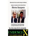 evidencia X Héctor Sampson