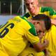 Clasificación de Itagüí Leones a Semifinal, gol de Mateo Serna por lanzamiento desde el punto penal.