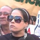 Maestros mal pagados en Venezuela exigen aumento de sueldo