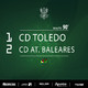 CD Toledo - CD Atlético Baleares (Temp. 16/17)