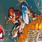 Spider-Man: Bajo la Máscara 85. El Asombroso Spider-Man 108, entrevista a Conrado Martín 'Entiman' y Noticias de Cine.