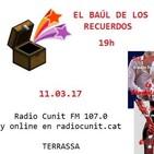 Entrevista en Radio Cunit de Terrassa, 11.03.17