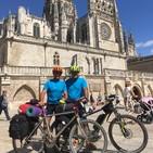 Dos peregrinos de Toledo, pioneros en hacer el camino de Caravaca a Potes