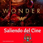 Wonder Woman 2017 Saliendo del Cine
