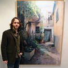 Entrevista al pintor Javier Martín con motivo de su exposición 'Introspectiva'