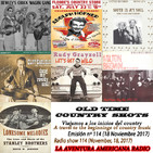 114- Old Time Country Shots (18 Noviembre 2017)