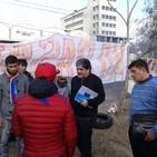 Entrevista con vecinos de Villa La Maternidad luego del corte de calle. Latiendo Matrias