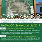 JÓNATHAM F. MORICHE - Intervención en el acto de apoyo a Alberto Cañedo en Badajoz (26/04/2017)