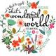 What a wonderful world. 6th B