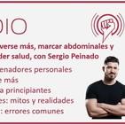 Episodio 97: Cómo moverse más, marcar abdominales y ganar músculo sin perder salud, con Sergio Peinado