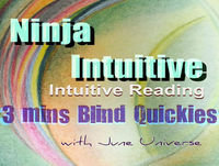 All in Perfect Timing - 3 Mins Intuitive Blind Reading Quickies.