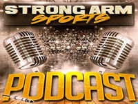 Strong Arm Sports Epi 136 | Kyrie Wants Out of Cleveland | Our Top 5 WR's of Today