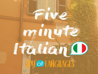#22: Where's the train station? How to ask questions in Italian.