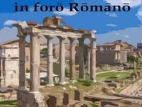 In Foro Romano 7 - De Linguis (praeter Latinam et Graecam)