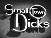 Small Town Dicks Podcast, S01 E11: The Sociopath & The Whistleblower