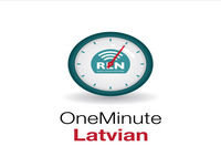 Introducing the One Minute Latvian Podcast