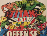 Titan Up the Defense 54- New Teen Titans Annual #1