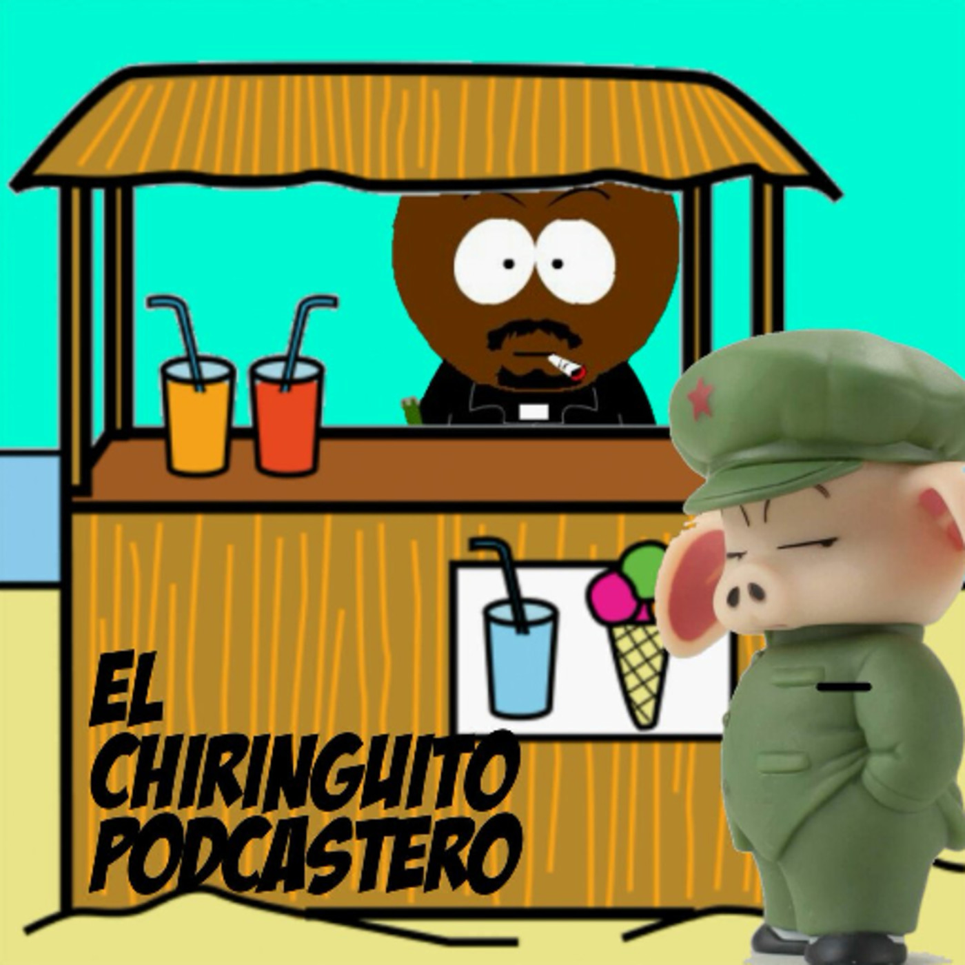 Logo de El Chiringuito Podcastero