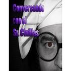 Conversando con el Sr. Cinillas