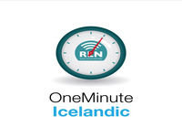 Lesson 3 - One Minute Icelandic