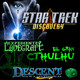 LODE 8x25 –Archivo Ligero– Star Trek DISCOVERY, Expediente Lovecraft El Gran CTHULHU, DESCENT 2ª edición
