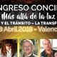 CONGRESO MÁS ALLÁ DE LA LUZ. 28 de Abril en Valencia. Con Dr. Raymond Moody, Marilyn Roosner y más.