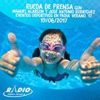 Rueda de Prensa con Manuel Alarcon y Jose Antonio Rodriguez - Eventos Deportivos en Padul este Verano '17 - 19-06-2017