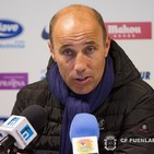 Calderón mira hacia el futuro del CF. Fuenlabrada